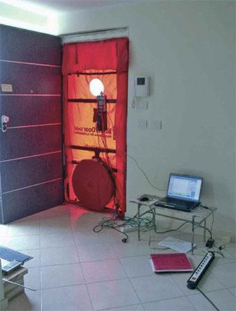 Verifica di tenuta all'aria con blower door test
