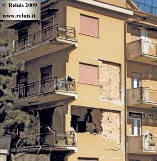 Effetti di eventi sismici sulle tamponature esterne